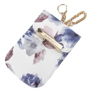 Animal Watercolor flower Radio Waves Key Case Ladies