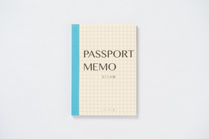 Horse Racing News paper Passport Memo Pad 5 mm Grid Trip Travel Pocket