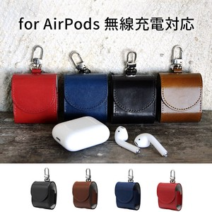 ITALY LEATHER CASE for AirPods 無線充電対応