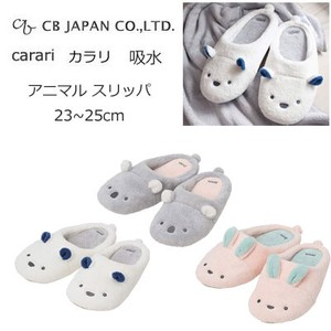 Water Absorption Fast-Drying Animal Slipper Polar Bear Rabbit Koala [CB Japan] Micro fiber