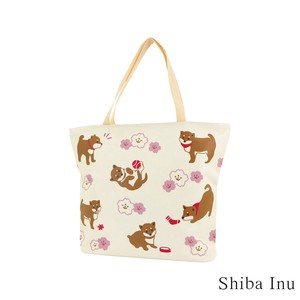 Tote Bag Shiba Dog Light-Weight Multi Bag Shiba Dog