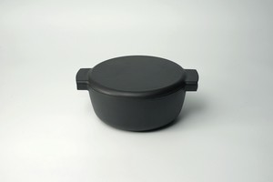 Casting Enamel Pots with 2 Handle Deep