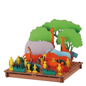 Line Safari Cardboard Box Craft Kit