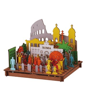 Line Rome Cardboard Box Craft Kit