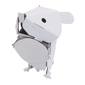 ANIMAL Hamster Cardboard Box Craft Kit