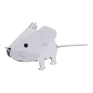 ANIMAL Mouse Cardboard Box Craft Kit Zodiac