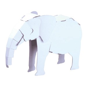 ANIMAL Cardboard Box Craft Kit