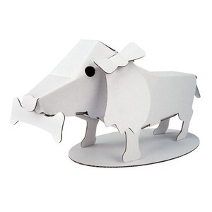 ANIMAL Dachshund Cardboard Box Craft Kit