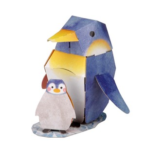 Penguin Cardboard Box Craft Kit