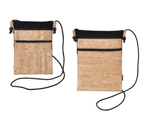 Cork Pouch Fastener Tablet Type Bag