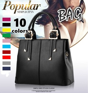 Ladies Shoulder Bag Handbag Diagonally Fake Leather Semi-formal Large capacity