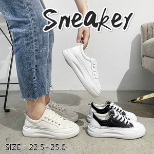 A/W Ladies Shoe Sneaker Beautiful Legs Lace Leather Slip