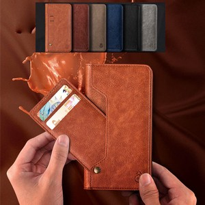 iPhone iPhone iPhone Case Notebook Type Card Storage Smartphone Stand Effect Leather