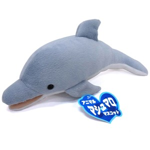 Soft Toy Doll Fluffy Feeling Marshmallow Mascot Dolphin Blue