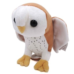 Soft Toy Doll Fluffy Feeling Marshmallow Mascot White Owl
