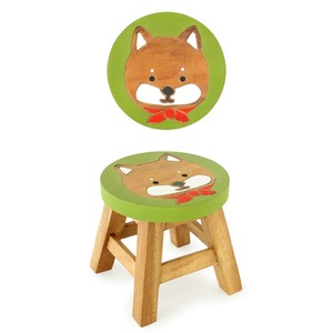Round Stool Objects and Ornaments Ornament Dog