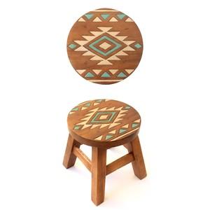 Round Stool Native