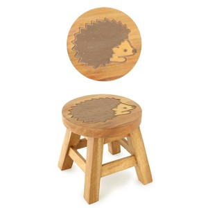 Round Stool Hedgehog