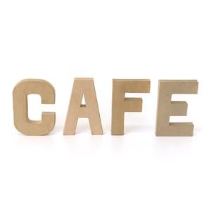 ペーパーオブジェ レター CAFE