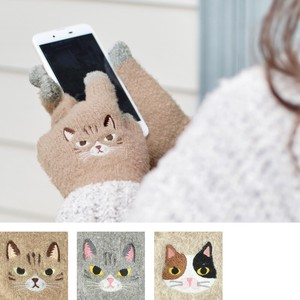 Smartphone Glove cat