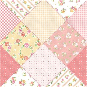 Wrapper Fabric Pink Half Sheet