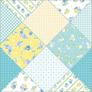 Wrapper Fabric Blue Half Sheet