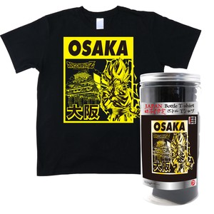 Dragon Ball Z Bottle T-shirt Osaka Black
