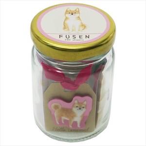 Sticky Note ANIMAL In the Bottle Husen Set Shiba Dog