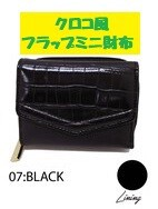 Black Flap Wallet