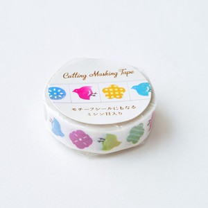 Cutting Washi Tape 10mm Motif Japan