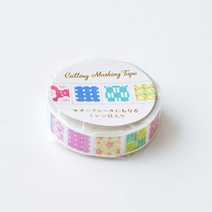 Cutting Washi Tape 10mm Japanese Pattern Pattern Japan