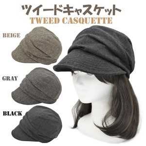 Tweed Casquette Ladies Adjustment