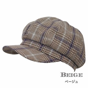 Checkered Casquette 3 Colors Ladies Men's A/W Control Larger Smallish
