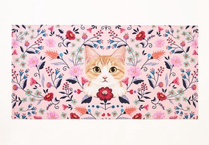 Flower Cat Bathing Towel Shop