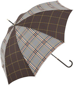 A/W Stick Umbrella 2 Tone Checkered