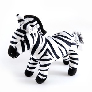 Soft Toy Doll Fluffy Feeling Marshmallow Mascot Zebra
