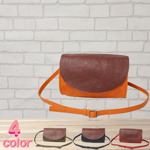 Cow Leather Shoulder Bag Roll 3 Colors