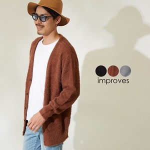 Men's Knitted V-neck Cardigan
