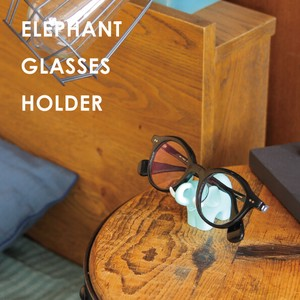 Butterfly Eyeglass GLASS Fan Holder