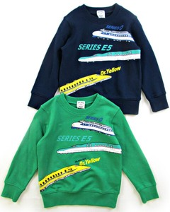 Kids Fleece Sweatshirt Shinkansen