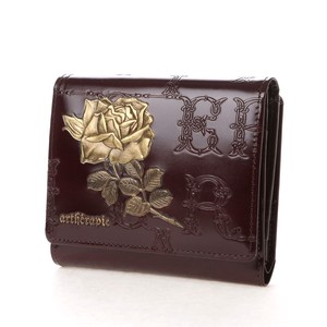 Rose Out Clamshell Wallet Out Pocket
