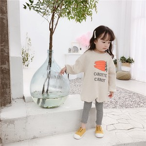 Children's Clothing Top Long Sweatshirt Carrot Kids Casual Korea
