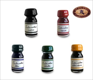 Italy Brand Glass pen Ink Fountain Pen Ink Bottle Type