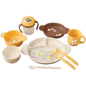 Winnie The Pooh Baby Plates & Utensil Set