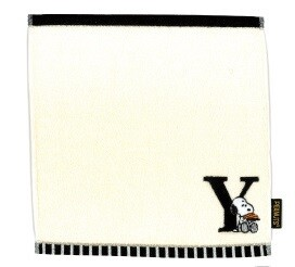 Snoopy Initial Mini Towel
