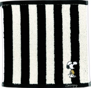 Snoopy Mono Tone Mini Towel Stripe