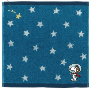 Denim Mini Towel Astro-Notes