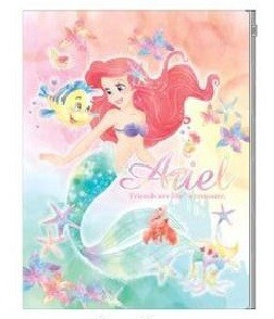 Disney Plastic Folder Ariel