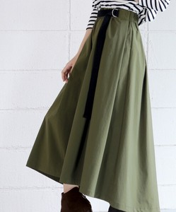 Water-Repellent Stretch Flare Skirt