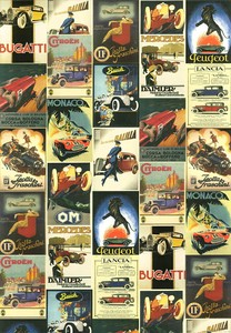 Italy Brand Poster Car & Motorcycle Book